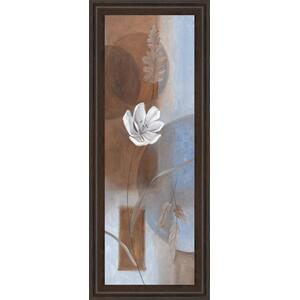 """White Flower I"" Framed Print Wall Art"