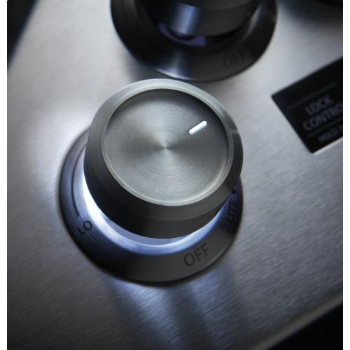 "Monogram 36"" Smart Deep-Recessed Gas Cooktop (Natural Gas)"