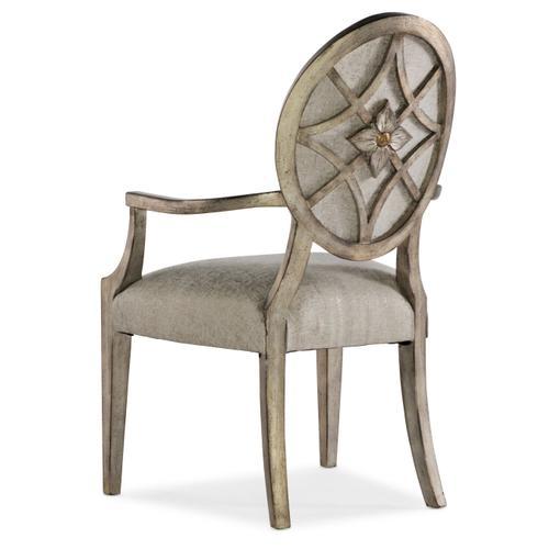 Sanctuary Romantique Oval Arm Chair - 2 per carton/price ea