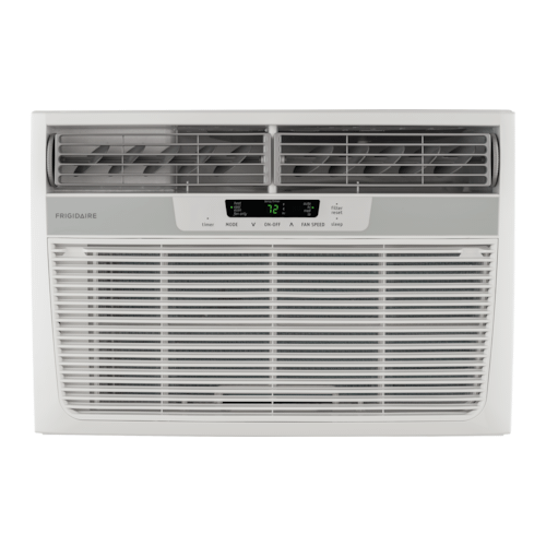 Frigidaire - Frigidaire 11,000 BTU Window-Mounted Room Air Conditioner with Supplemental Heat