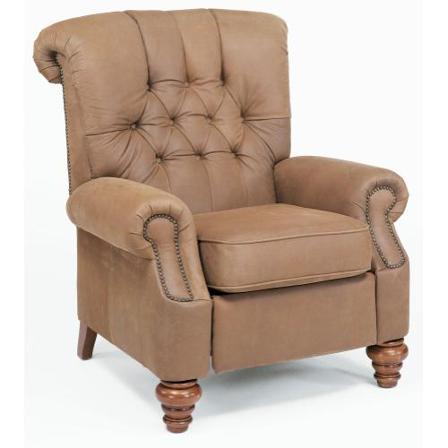 Equestrian High-Leg Recliner