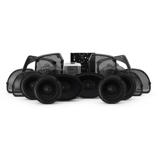 Rockford Fosgate - 2014+ Harley-Davidson® Road Glide® Ultra & Electra Glide® Ultra Classic® 6-Speaker & Amp Kit