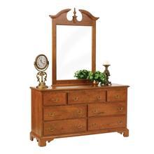 """Elegant River Bend 62"""" Dresser- Mirror"""