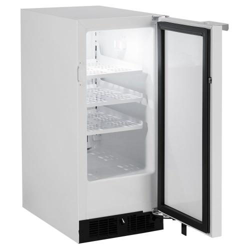 15-In Scientific General Purpose All Refrigerator with Door Style - White