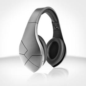 Matte Black vBold Over-Ear Bluetooth Headphones