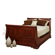 Legacy Sleigh Bed with high footboard