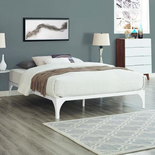 Ollie Queen Bed Frame in White