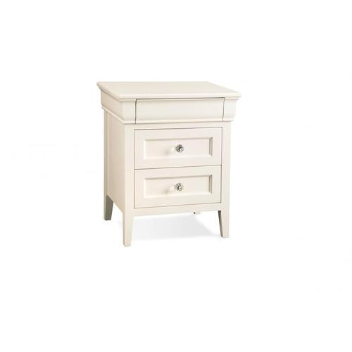 - Monticello 3 Drawer Night Stand with Power Management