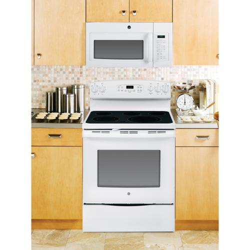 GE 1.6 Cu. Ft. Over-the-Range Microwave White JVM1630WFC