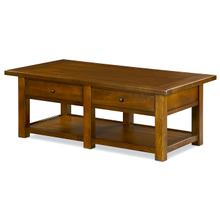 Peters-Revington Sundance Prairie Rectangular Cocktail Table