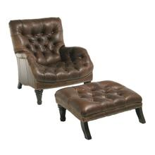 See Details - Sleepy Hollow Ottoman (Leather)
