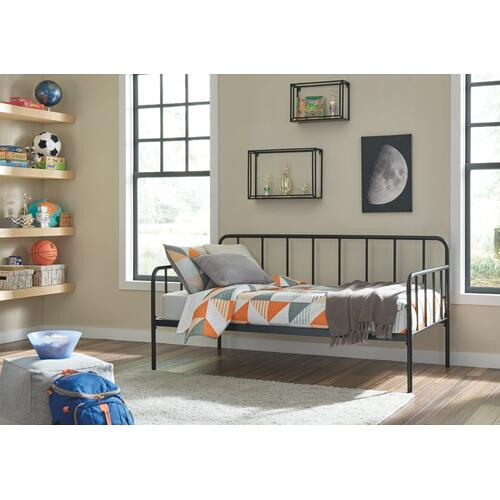 Trentlore Twin Metal Day Bed With Platform