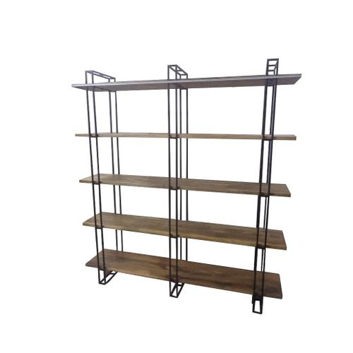 Crestview Collections - Anthropology Metal and Mango Wood Etagere