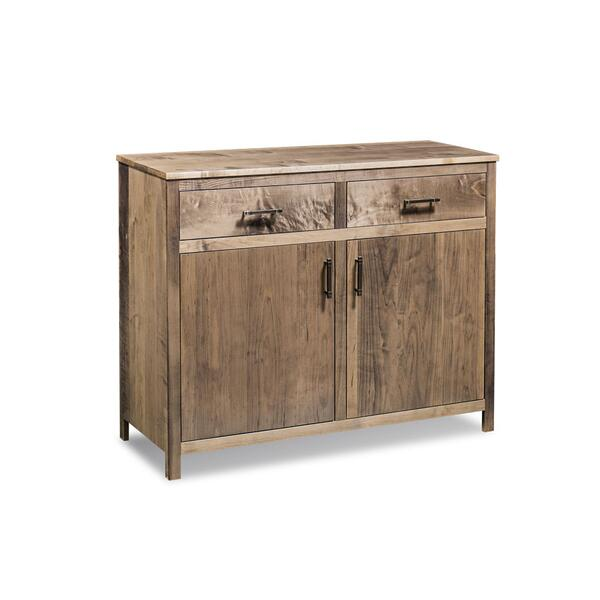 Sheffield 2-Door Sideboard, Soft Maple #56 Silver Creek