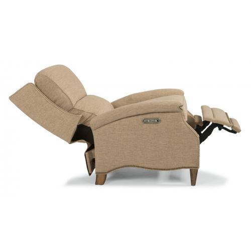 Priscilla Power High-Leg Recliner with Power Headrest