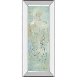 """Beauty In The Mist 1"" Panel By Anne Tavoletti Mirrored Framed Print Wall Art"