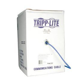 Cat5e 350 MHz Stranded-Core (UTP) PVC Bulk Ethernet Cable - Blue, 1000 ft. (304.8 m), TAA