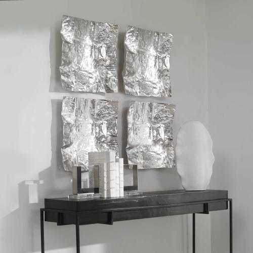Uttermost - Archive Metal Wall Decor, Nickel