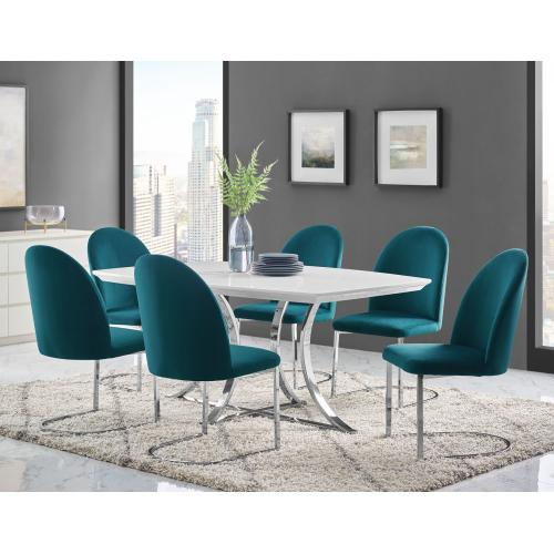 Krista Side Chair - Teal