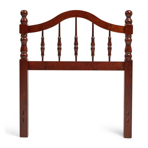 Twin Traditional Style Headboard in Cherry Finish