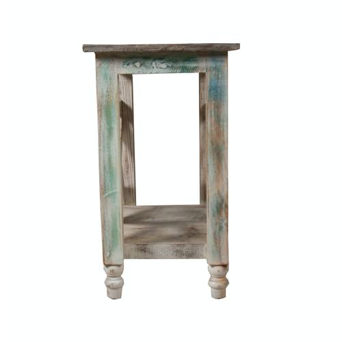 Capris Furniture - Accent Table, Available in Recycled Finish.