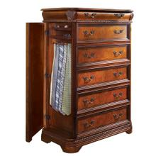 Gentleman's Chest W/Side Storage