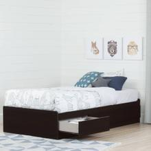 Mate's Platform Storage Bed with 3 Drawers - 39''
