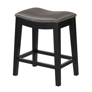 "Briar 24"" Bar Stool Gray"