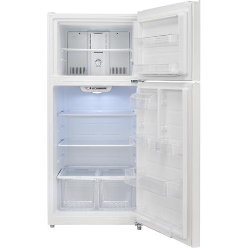 Top Mount Refrigerator - Stainless Steel - Look