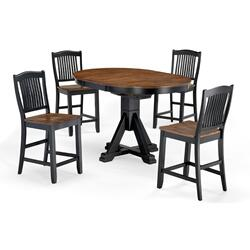 Single Pedestal Table (ebony)