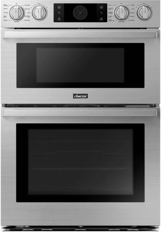 """Dacor30"""" Combi Wall Oven, Silver Stainless Steel"""