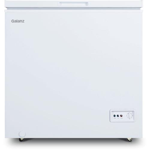 Galanz 5-Cu. Ft. Manual Defrost Chest Freezer in White