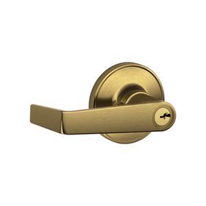 Schlage - Antique Brass Keyed Entrance Lock