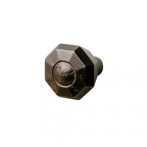 Gem Knob - CK208 White Bronze Medium