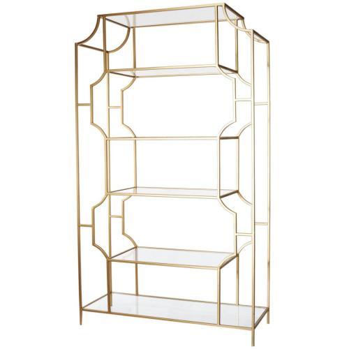 Glass/Metal Etagere