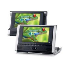 """View Product - DPA-07051B: 7"""" Two Screen Portable DVD Player"""