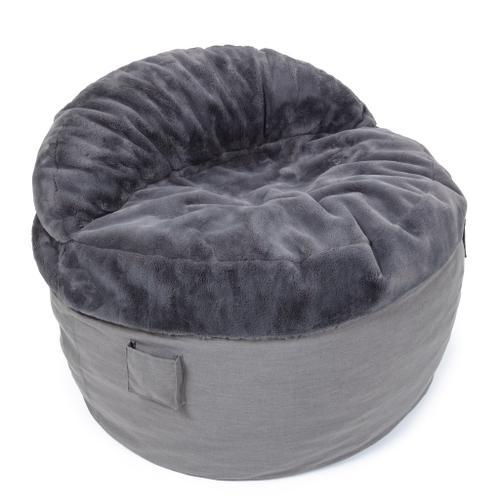 Cordaroys - Queen Chair - NEST Bunny Fur - Charcoal