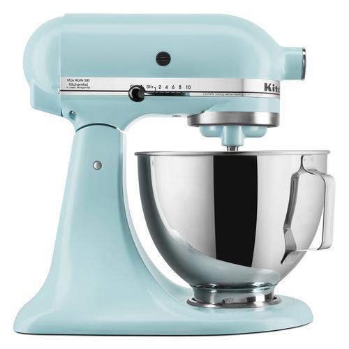 KitchenAid - Deluxe 4.5 Quart Tilt-Head Stand Mixer - Mineral Water Blue