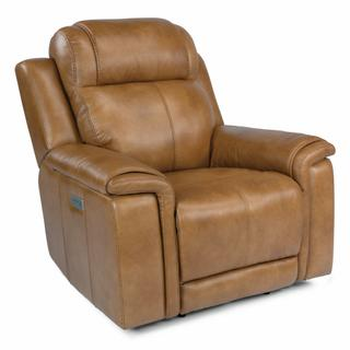 See Details - Kingsley Power Recliner with Power Headrest and Lumbar