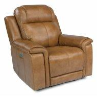 Kingsley Power Recliner with Power Headrest and Lumbar