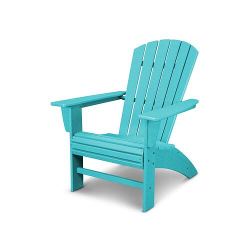Vintage Aruba Nautical Curveback Adirondack Chair in Vintage Finish