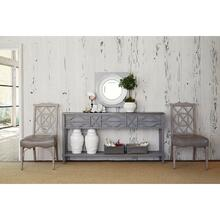 View Product - Spindle Console - Weathered Grey