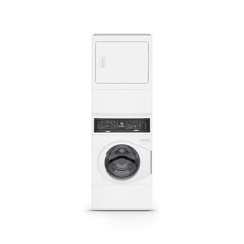 Speed Queen - SF7 Stacked Washer-Electric Dryer with Sanitize  5-Year Warranty