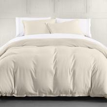 Hera Linen Duvet Cover, 4 Colors (super King/queen) - Super King / Light Tan