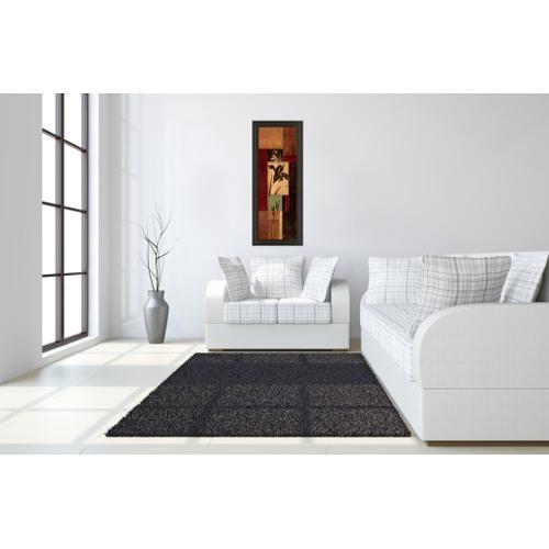 "Classy Art - ""Iris Shadow"" By Maria Donovan Framed Print Wall Art"