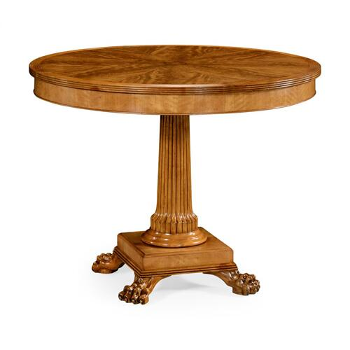 Round Natural Alder Centre Table