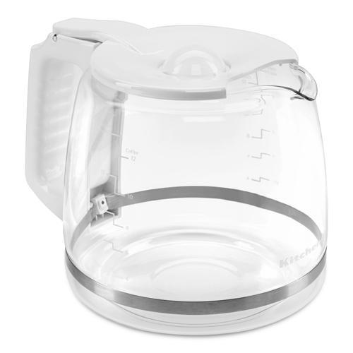 KitchenAid - GLASS CARAFE FOR KCM1202WH - White