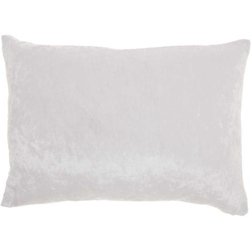 "Luminescence L4005 Ivory 12"" X 18"" Throw Pillow"