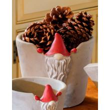 Large Santa Gnome Planter - Set of 1