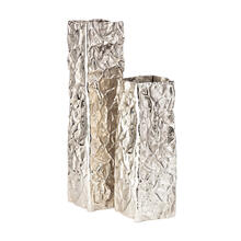 Tongass Aluminum Vases - Set of 2